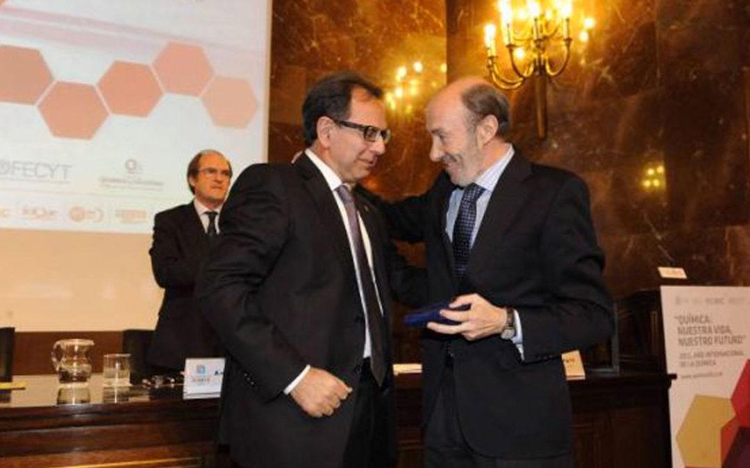 Entrega de la Medalla a la Investigación e Innovación en Química